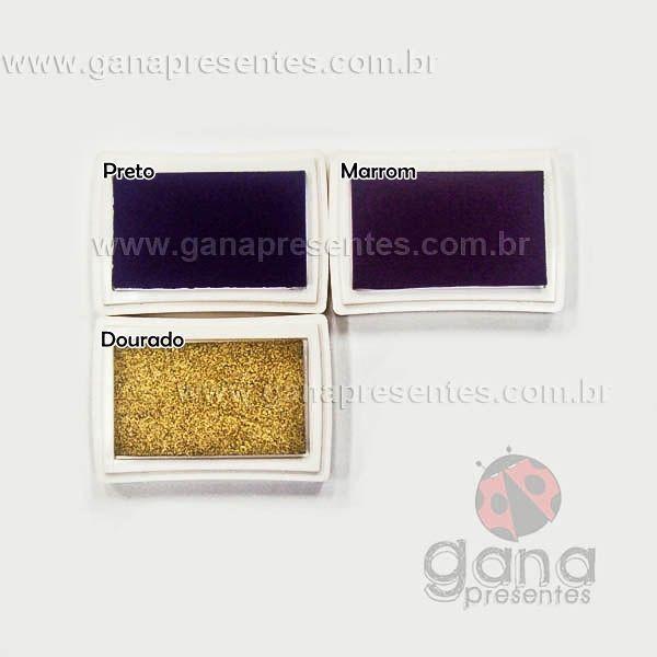 Carimbeiras artísticas - Scrapbook Carimbeira Grande para PRETO INK005-2