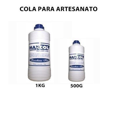Cola para Cartonagem e Artesanato - maxcol 1 KG Excelente!