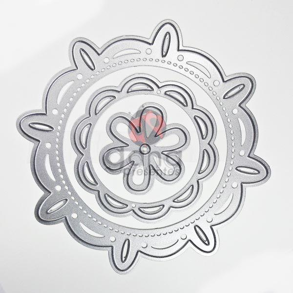 Faca de corte - Mandala 3 formatos e tamanhos 22838