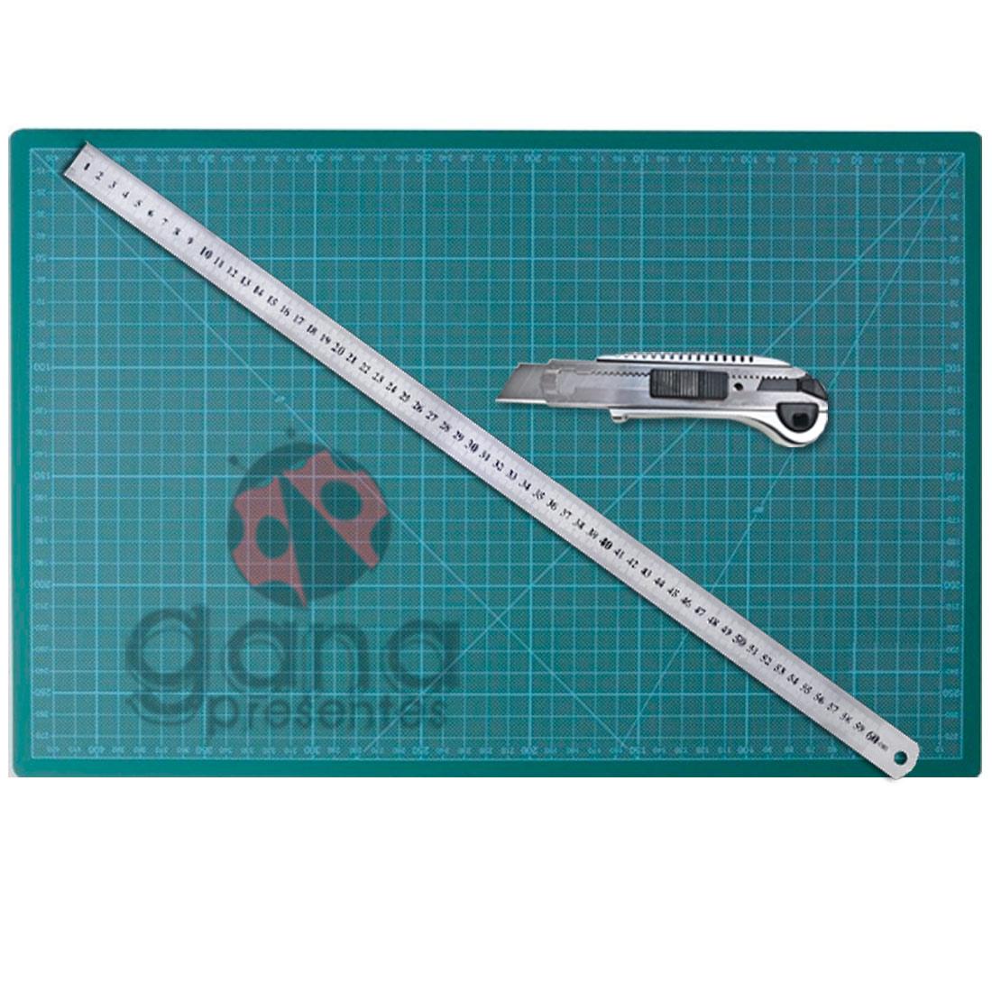 Kit de Corte - 60x45 ferramentas para em cartonagem e artesanato