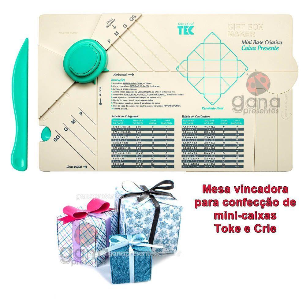 Mini Base Criativa - Caixa Presente