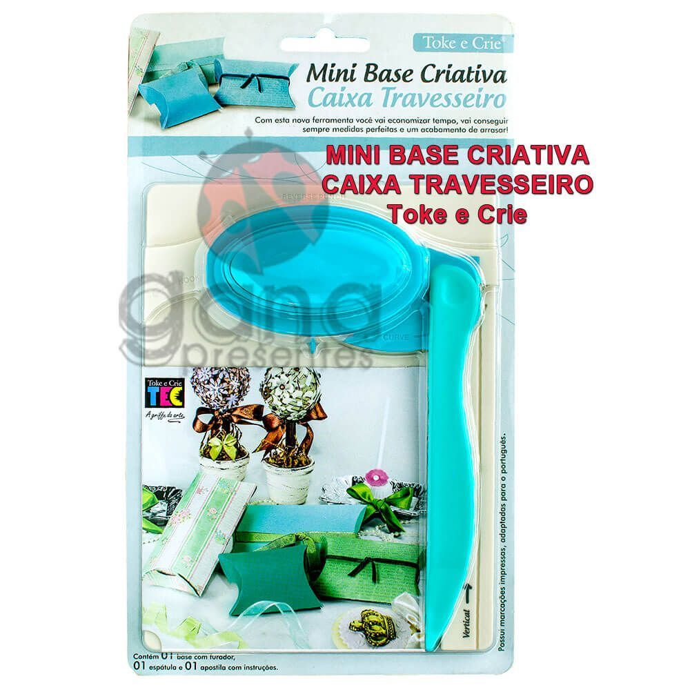 Mini Base Criativa - Caixa Travesseiro