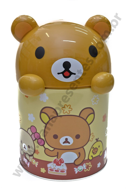 Mini Lixeira Urso F951