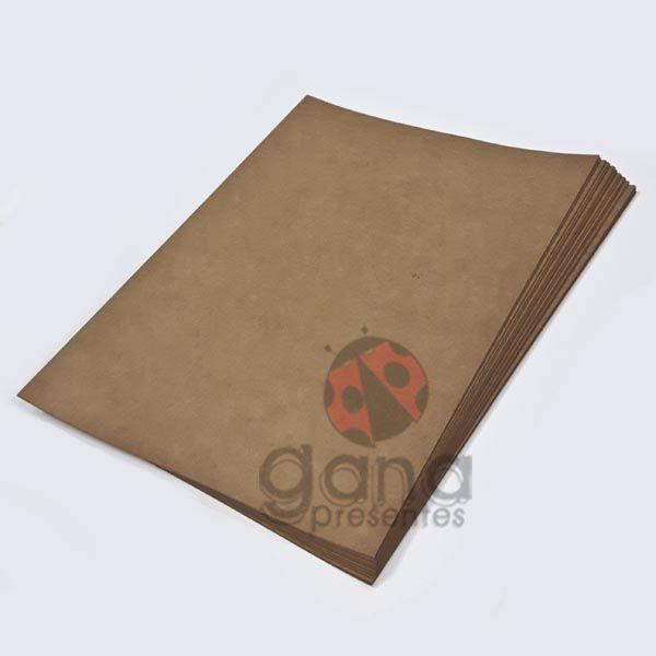 Papel Craft/Kraft A4 para Encadernação 180g/m² 50 folhas 180gm