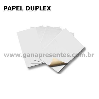 Papel Duplex - cartão para confecção de peças em cartonagem Duplex- 10 placas 47X33cm 910277