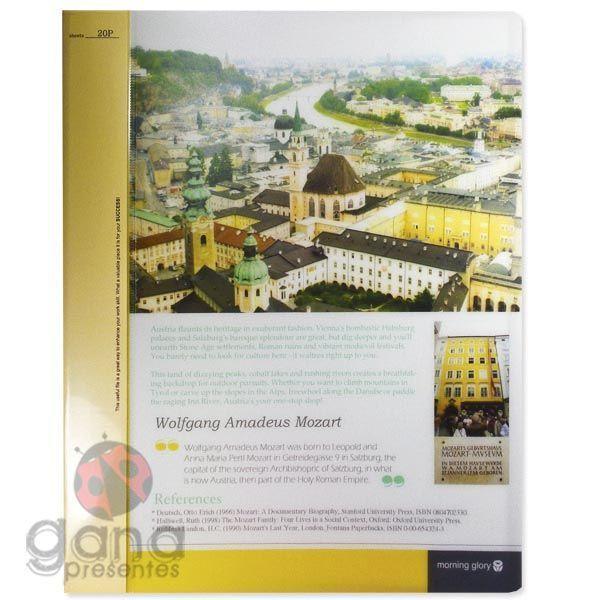 Pasta Catalogo 20 folhas VILLAGE 50200-65198