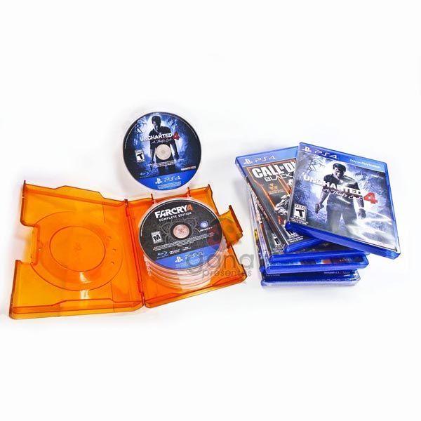 Porta CD/DVD para 10 unid IBIS
