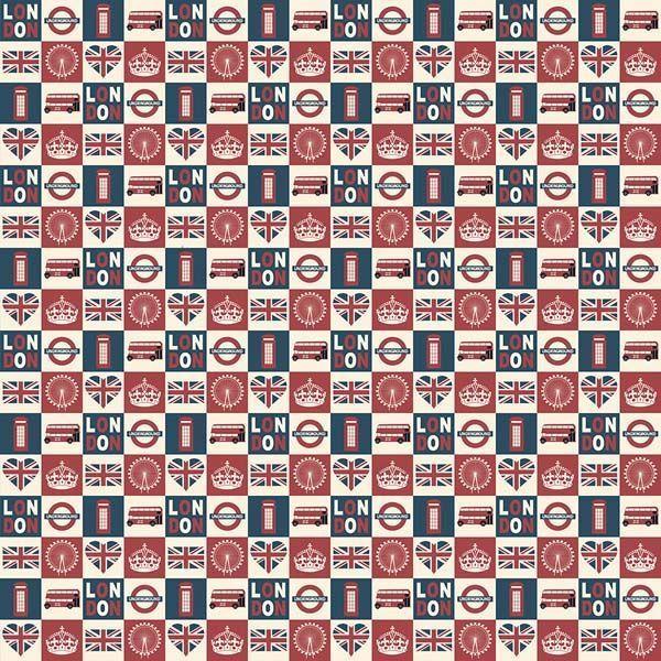 Tecido de Revestimento cartonagem patchwork - Estampado Bege nº455 Patch Londres