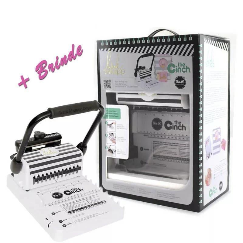 The Cinch Bindery Tool Square Hole -modelo Heidi Swapp Encadernadora Furo Quadrado