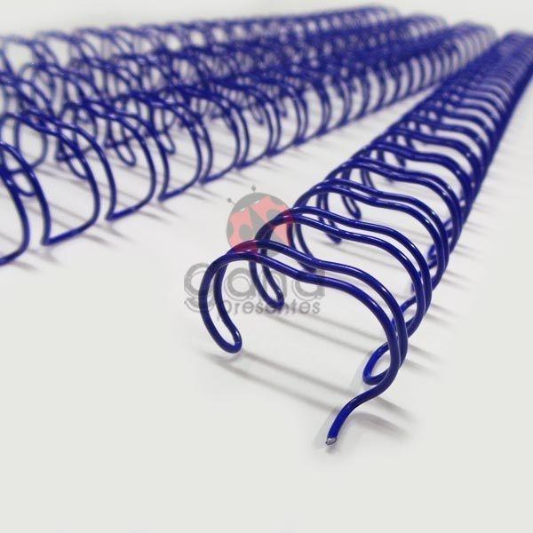 Wire-o Encadernação 5/8polegada = 1,6cm AZUL ROYAL Cinch Passo 2:1 -