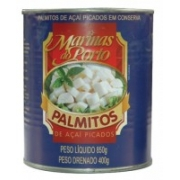 PALMITO LATA PICADO 400 GR MARINAS DO PORTO - 7898099370134