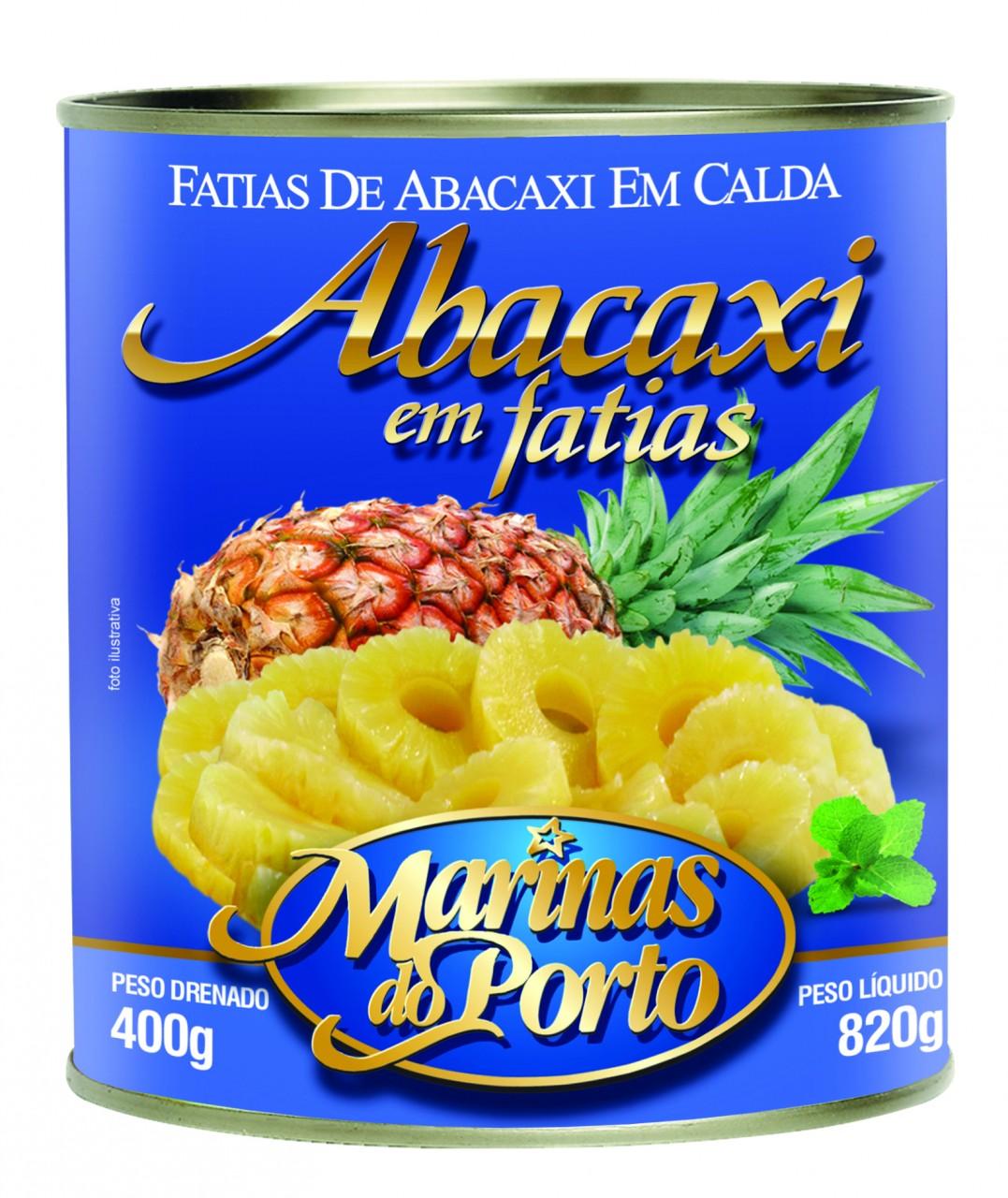 ABACAXI EM CALDA LATA 400 GR MARINAS DO PORTO - 7898099375405
