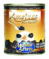 AMEIXA EM CALDA LATA 400 GR MARINAS DO PORTO - 7898099375726
