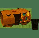 CONJ. 06 COPOS AMAZON 190 ML - 7891155076179
