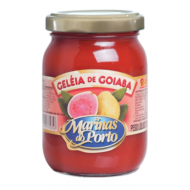 GELEIA GOIABA 310 GR MARINAS DO PORTO - 7898099375658