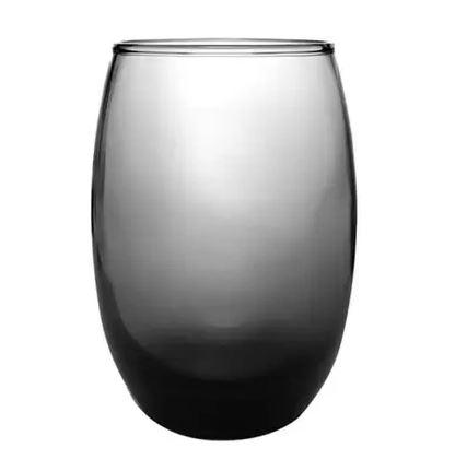 KIT 12 COPOS SM ARUBA LONG DRINK 465 ML CINZA - 7891155063520