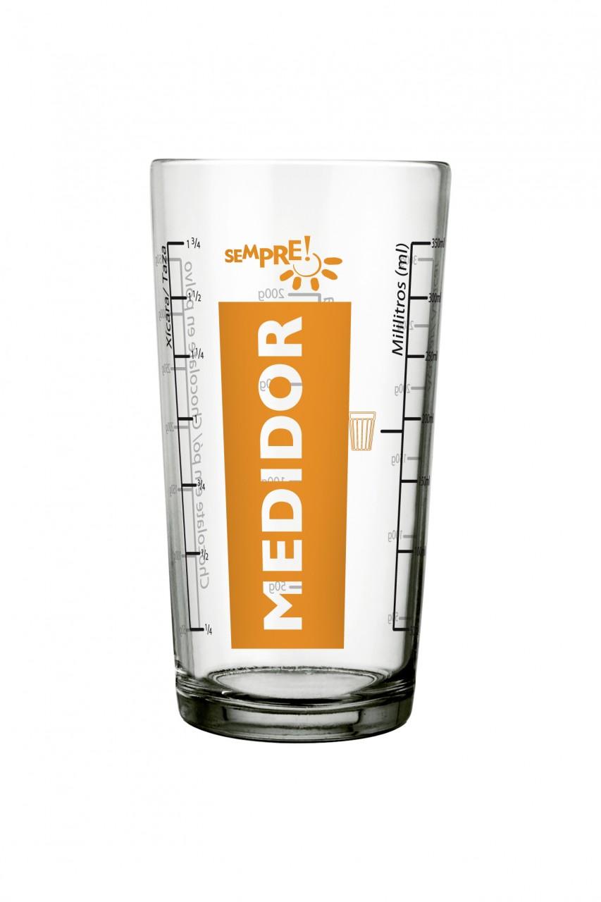 KIT 12 MEDIDOR SEMPRE 350 ML - 7891155038917