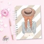 Anne White - Modelo 4 - Agendas | Bloquinhos | Cadernos