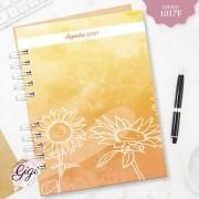 Aquarela de Girassol 1017F - Agendas   Blocos   Cadernos