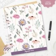 Aquarela Floral 1013F - Agendas | Blocos | Cadernos