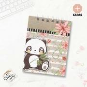Bloco de Anotações - Panda