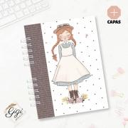Caderno A5 - Anne White