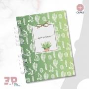 Caderno A5 - Cactos