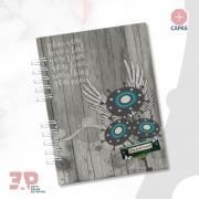 Caderno A5 - Liberte-se