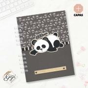 Caderno A5 - Panda