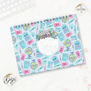 Caderno de Desenhos A4 - Meninos - Volta às Aulas