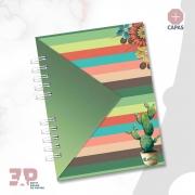 Caderno de Universitário - Cactos