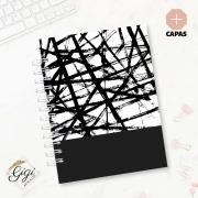 Caderno de Universitário - Preto & Branco