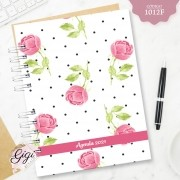 Rosas Inglesas 1012F - Agendas | Blocos | Cadernos