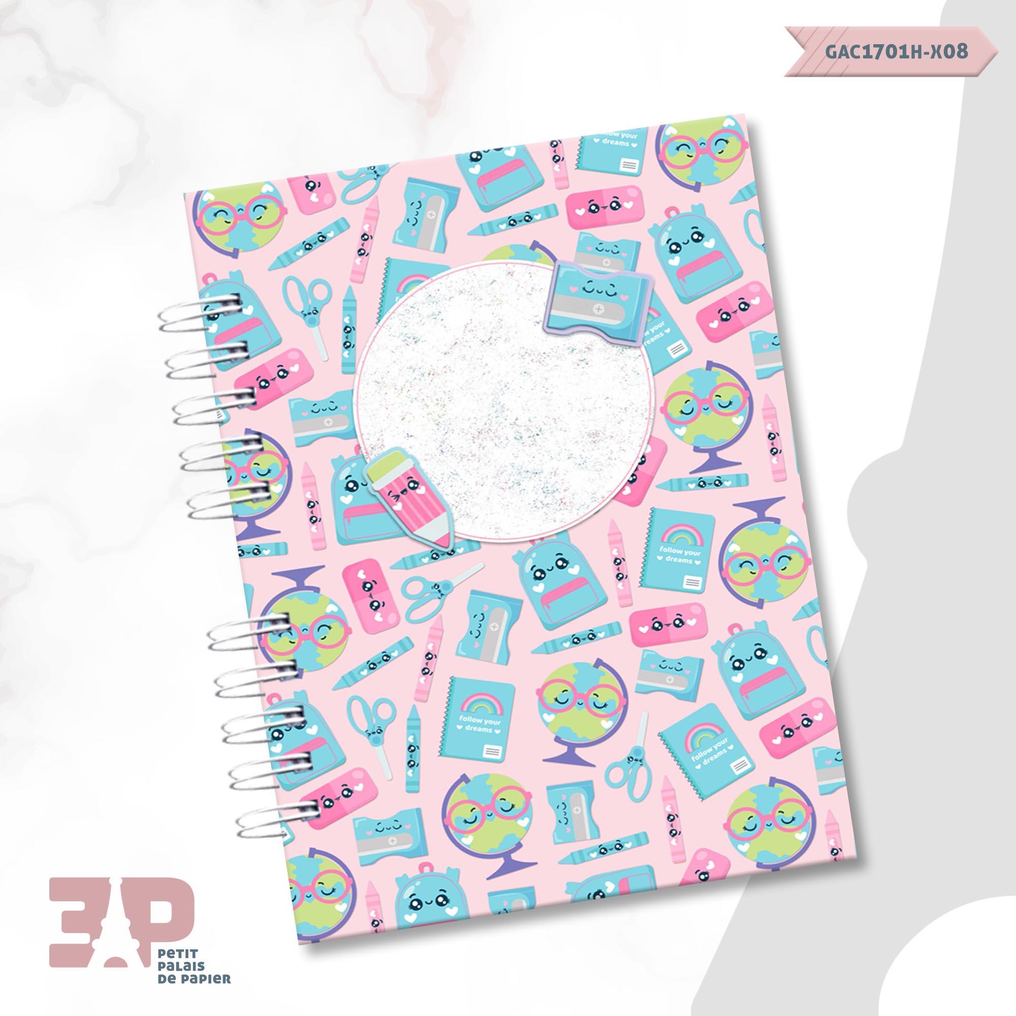 Agenda Escolar Meninas  - Petit Palais de Papier