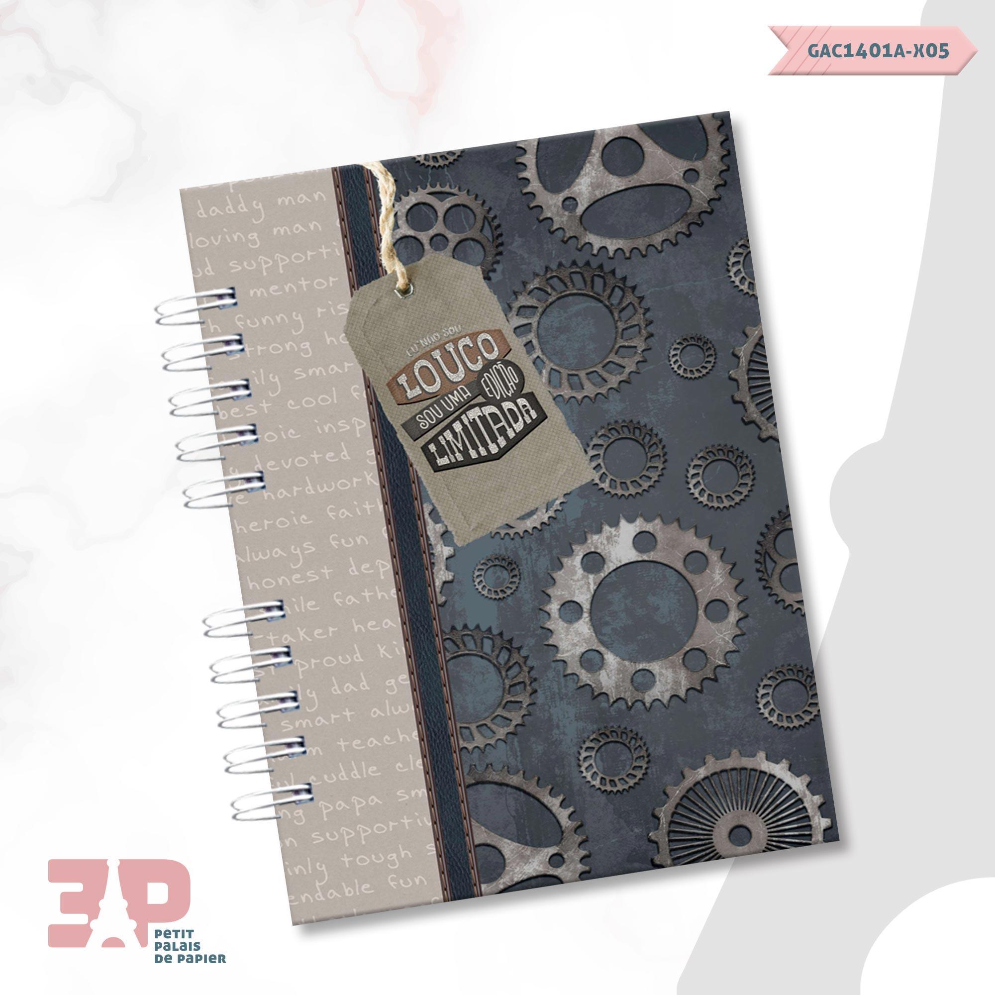 Agenda Permanente A5 - For Men  - Petit Palais de Papier
