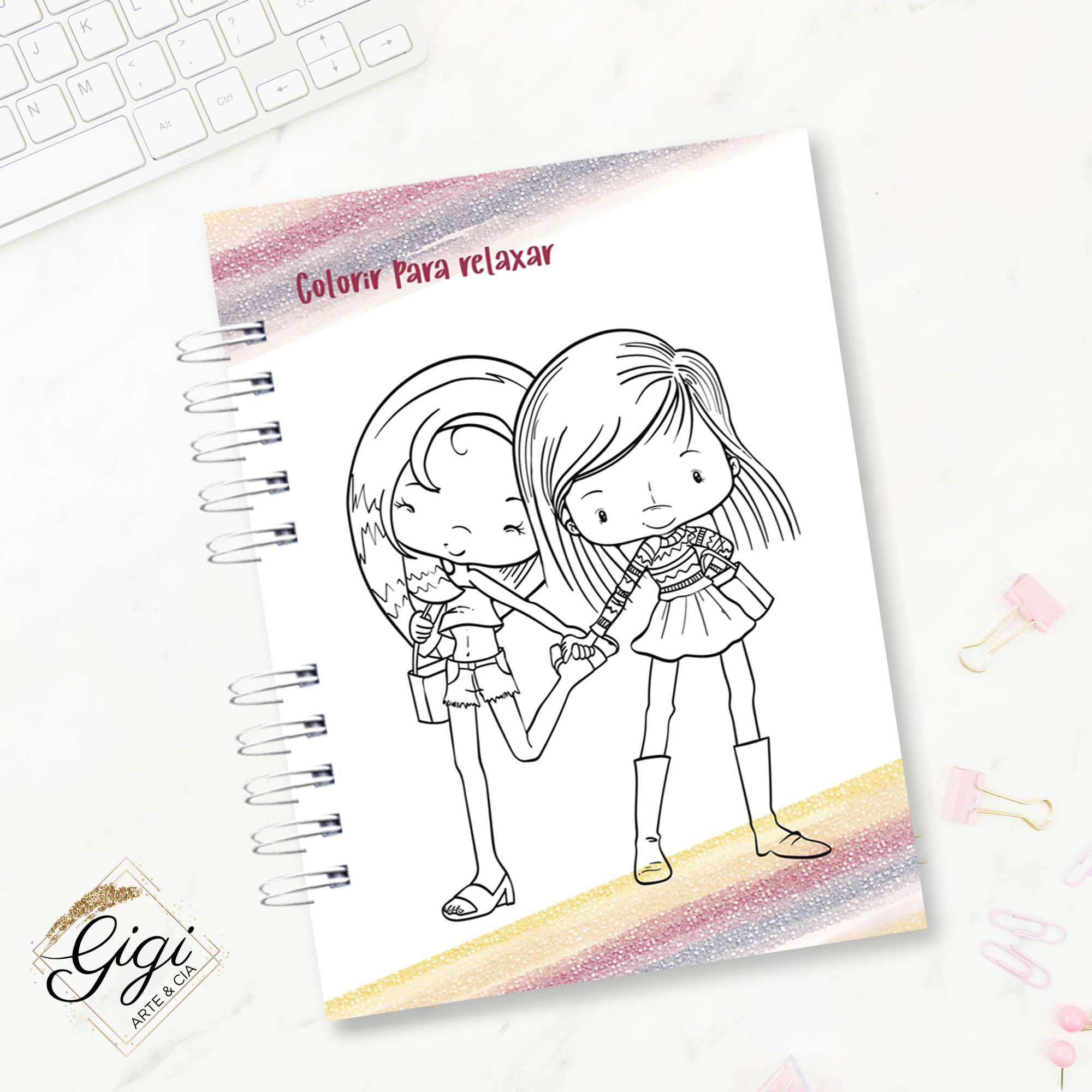 Agenda Permanente A5 - Friends Forever  - Gigi Arte e Cia