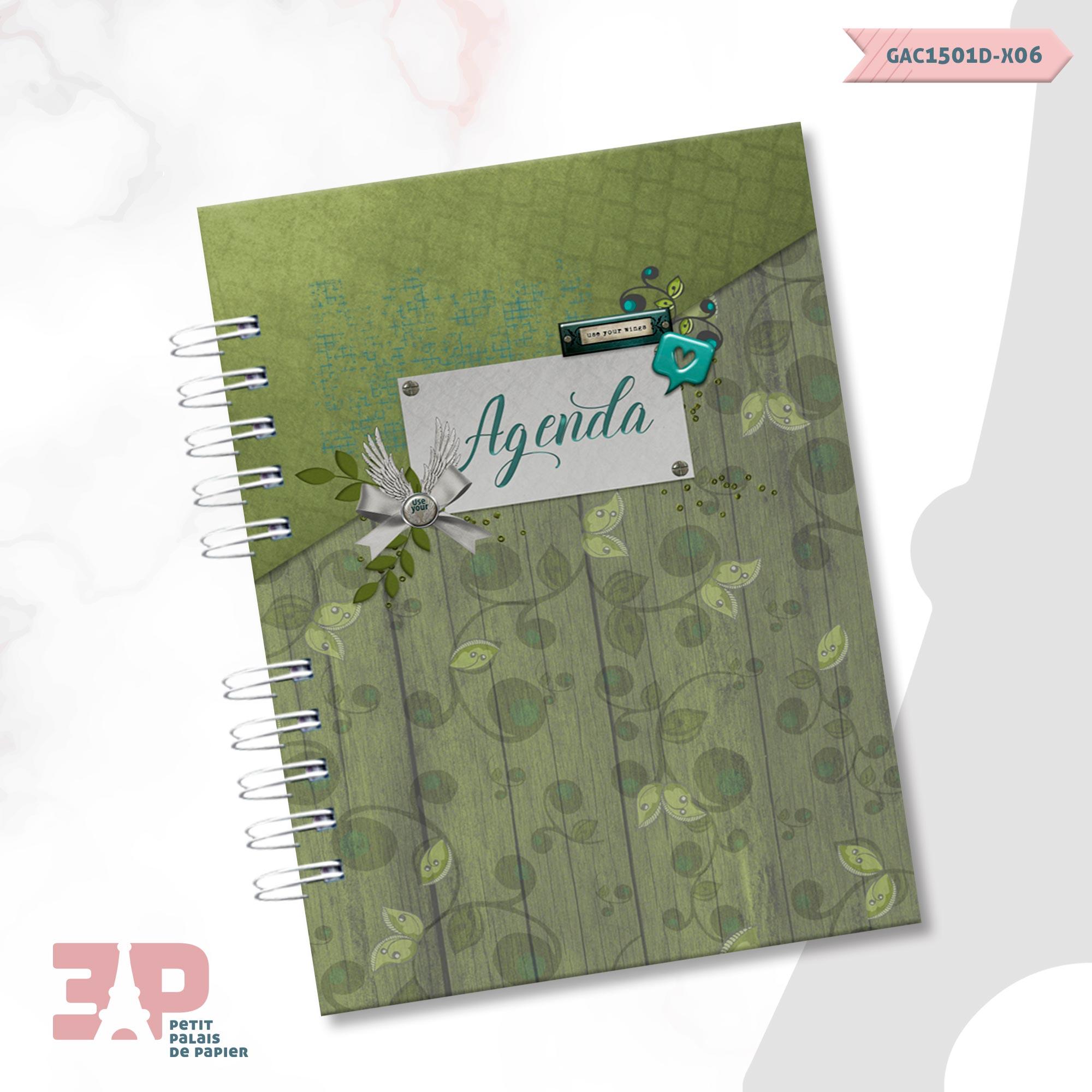 Agenda Permanente A5 - Liberte-se  - Petit Palais de Papier
