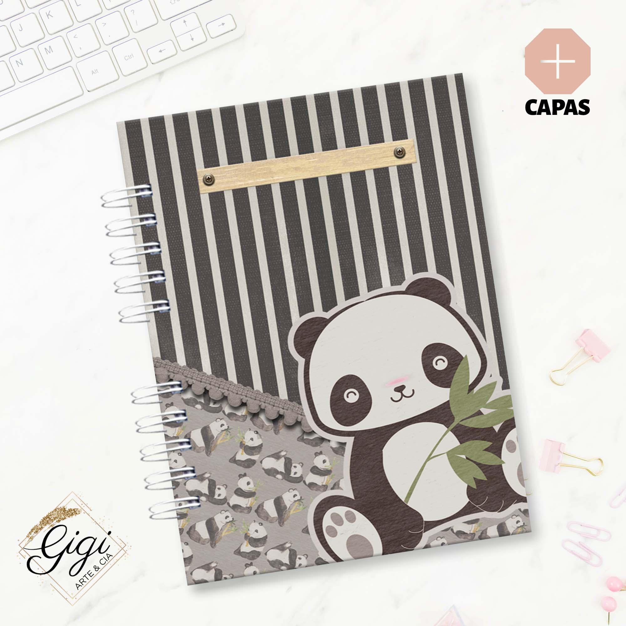 Agenda Permanente A5 - Panda  - Gigi Arte e Cia