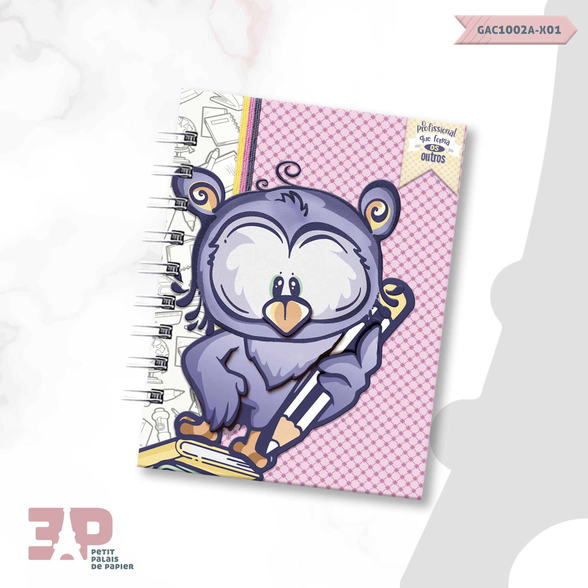 Agenda Permanente A6 - Ao Mestre com Carinho  - Petit Palais de Papier