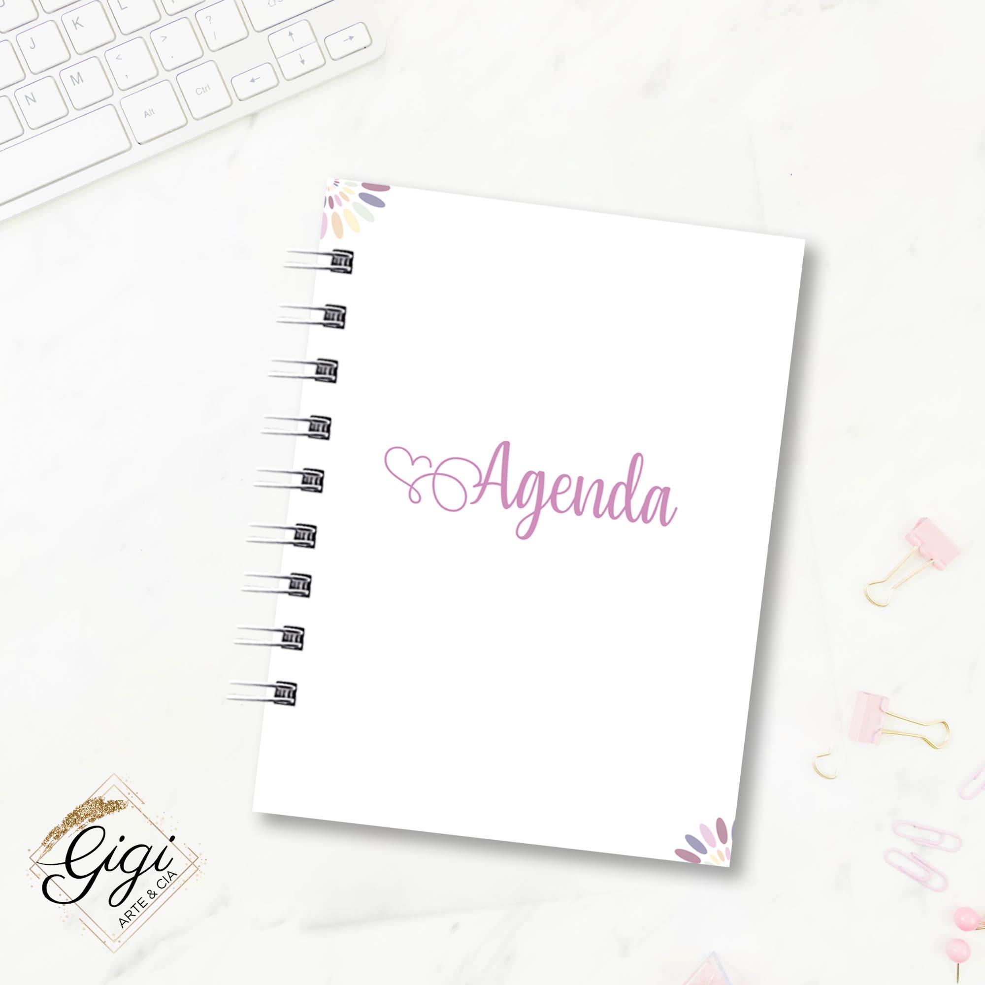 Agenda Permanente A6 - Ao Mestre com Carinho  - Gigi Arte e Cia