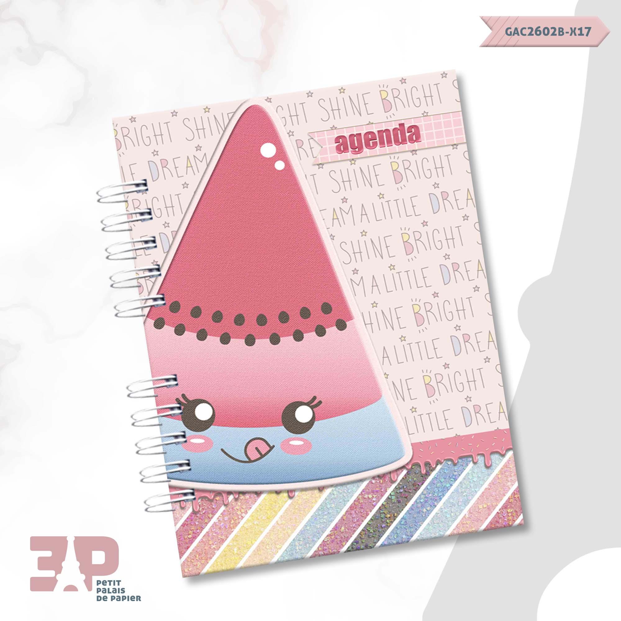 Agenda Permanente A6 - Candy Girls  - Petit Palais de Papier