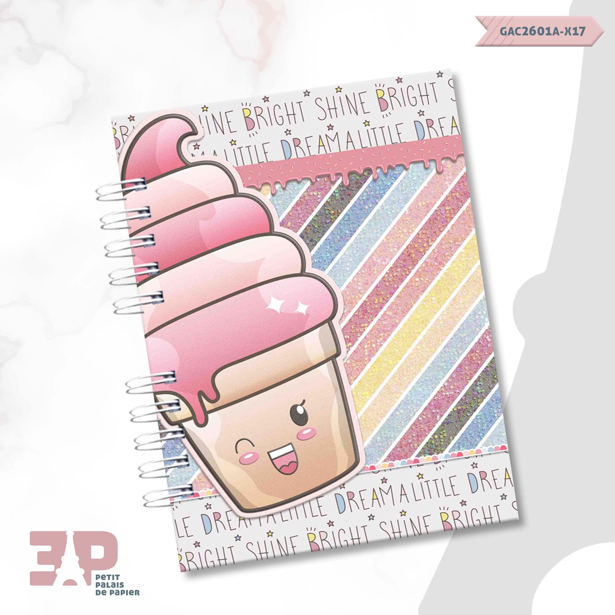 Agenda Permanente - Candy Girls  - Petit Palais de Papier