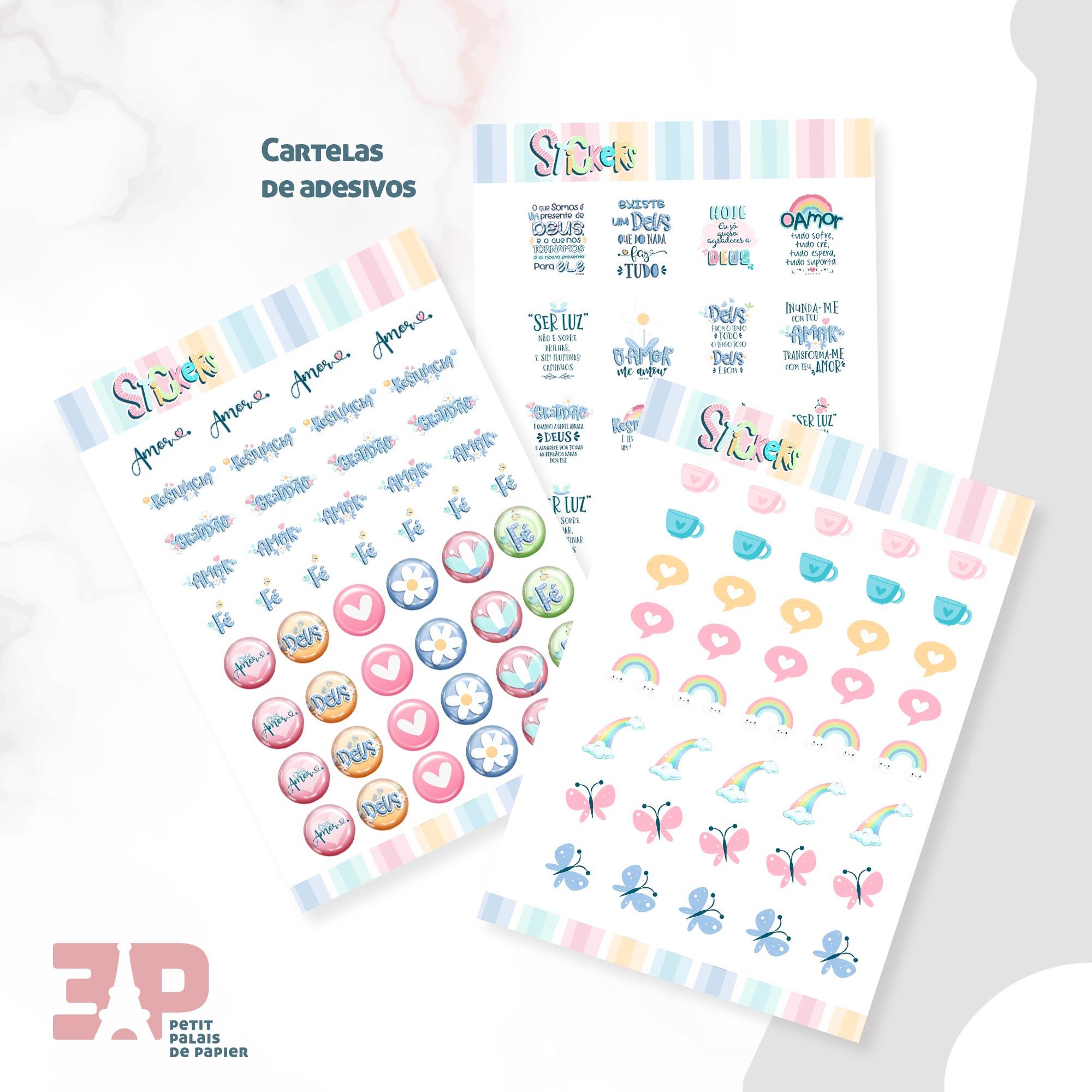 Agenda Permanente - Devoção  - Petit Palais de Papier