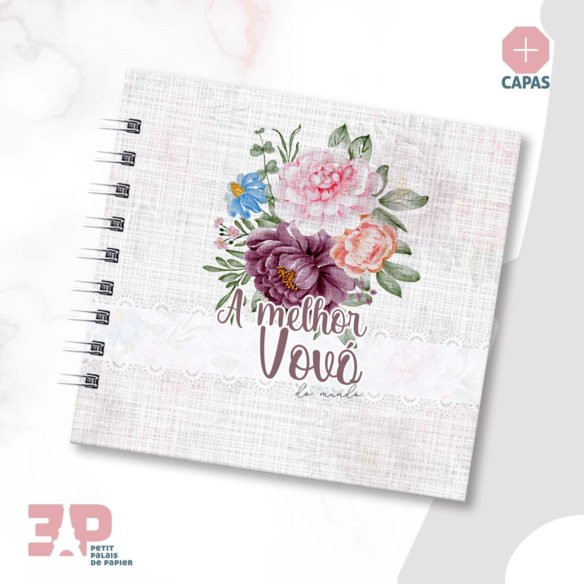 Álbum - A Melhor Vovó do Mundo  - Petit Palais de Papier