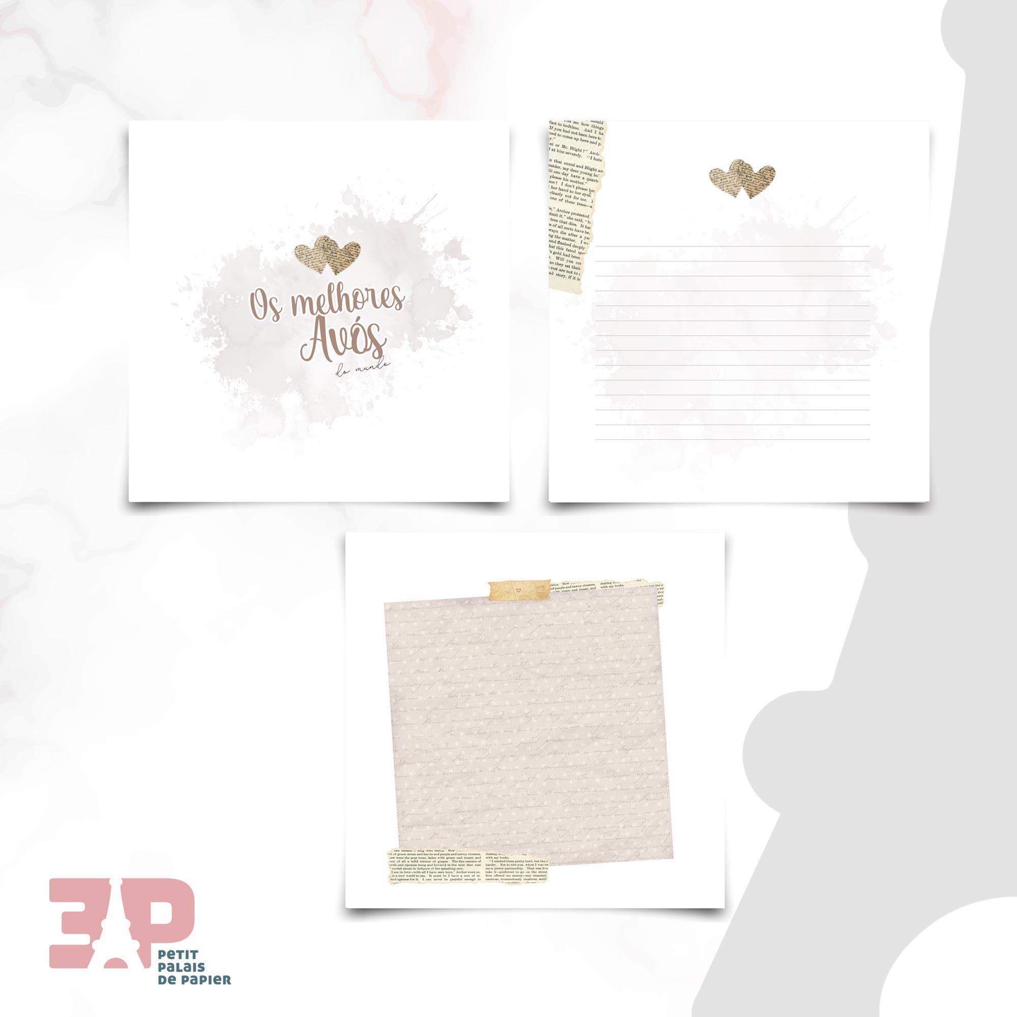 Álbum - Os Melhores Avós do Mundo  - Petit Palais de Papier