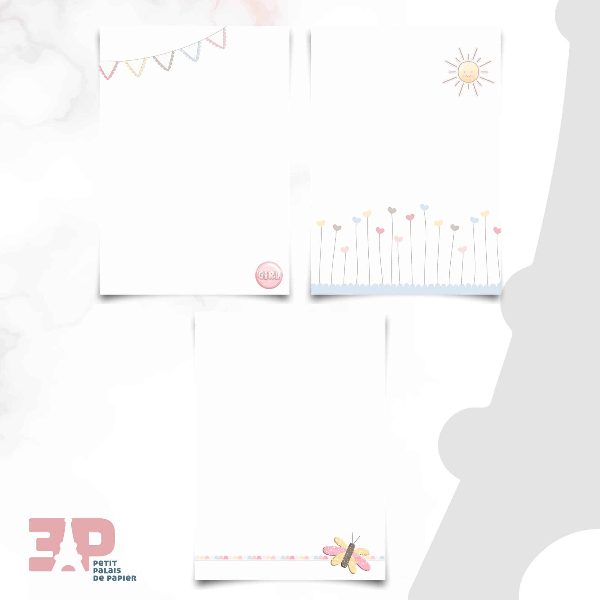 Bloco de Anotações - Candy Girls  - Petit Palais de Papier