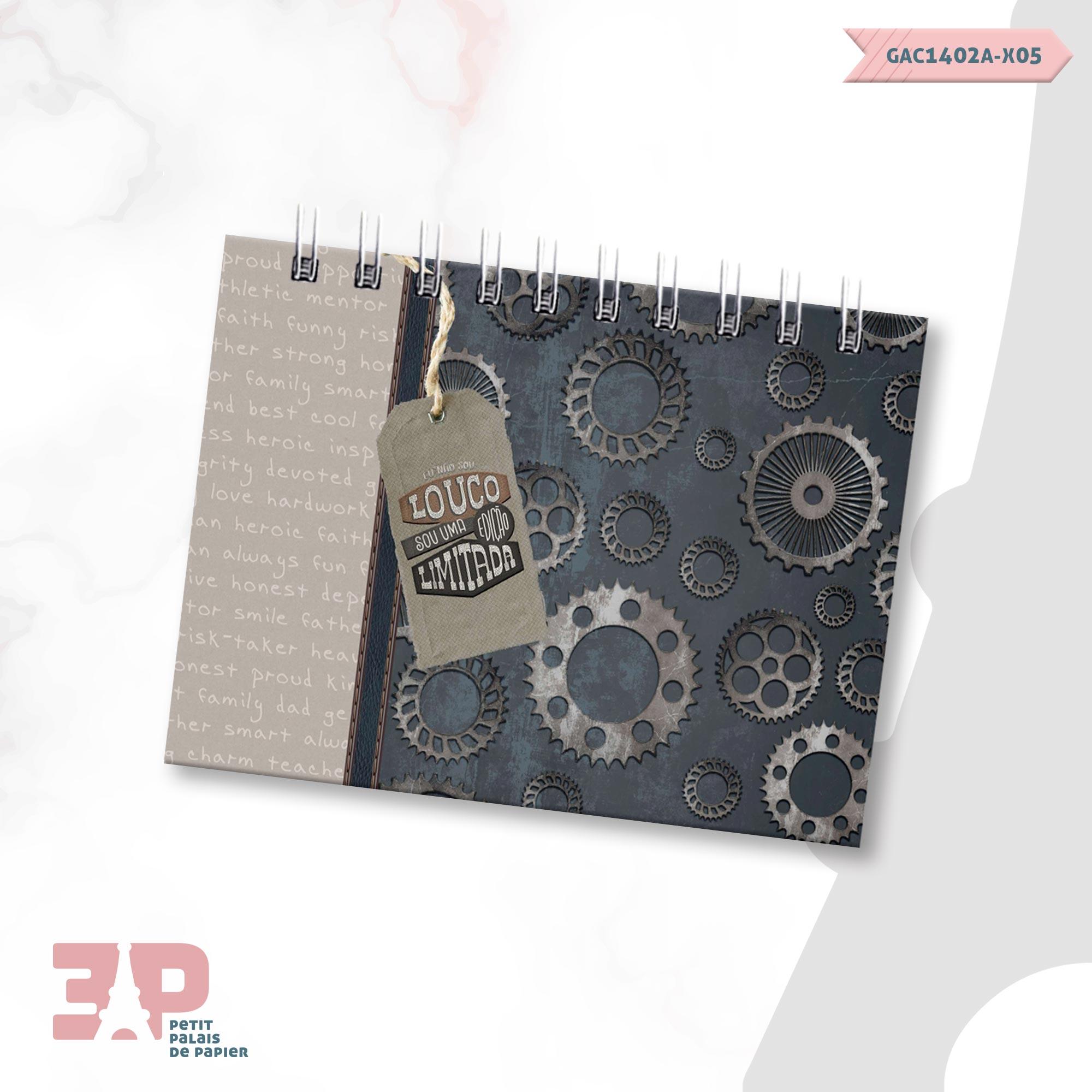 Bloco de Anotações - For Men  - Petit Palais de Papier