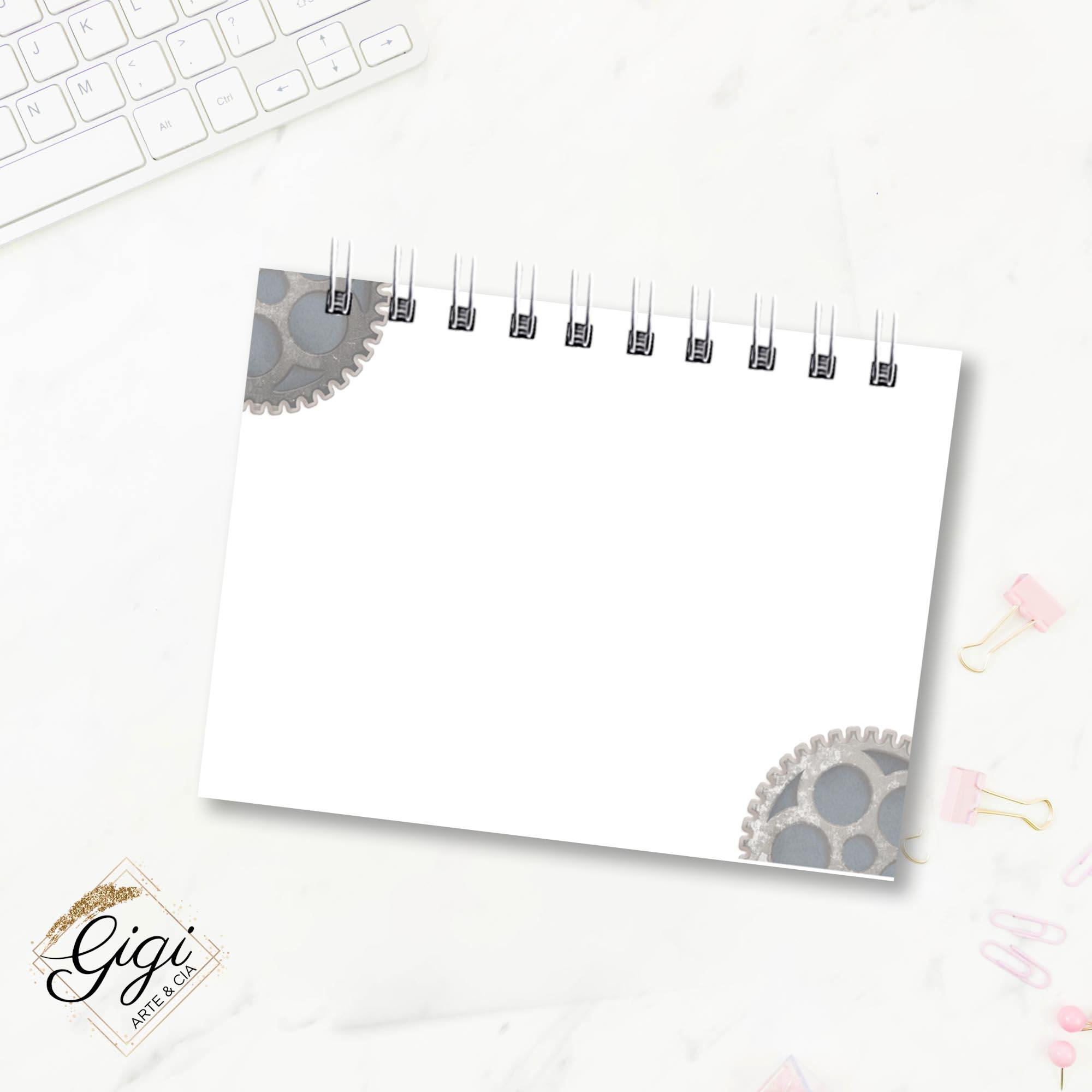 Bloco de Anotações - For Men  - Gigi Arte e Cia