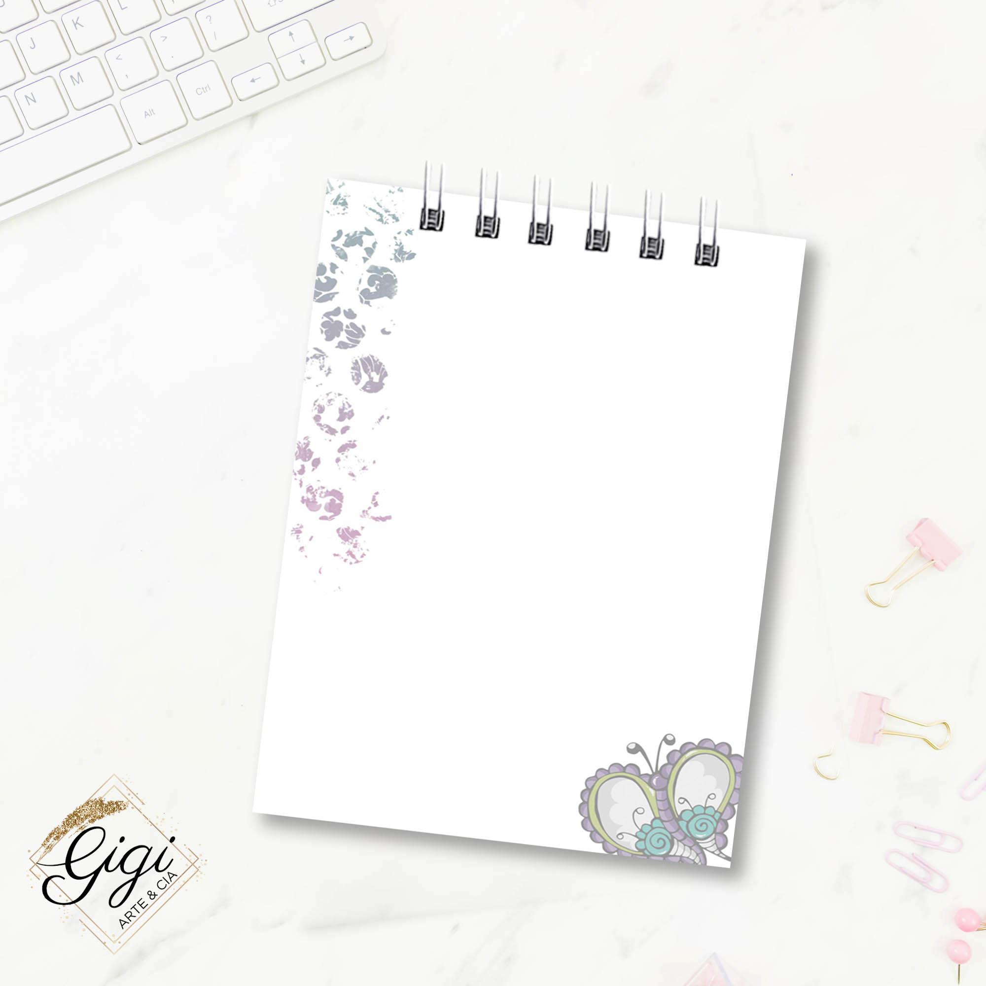 Bloco de Anotações - Liberte-se  - Gigi Arte e Cia