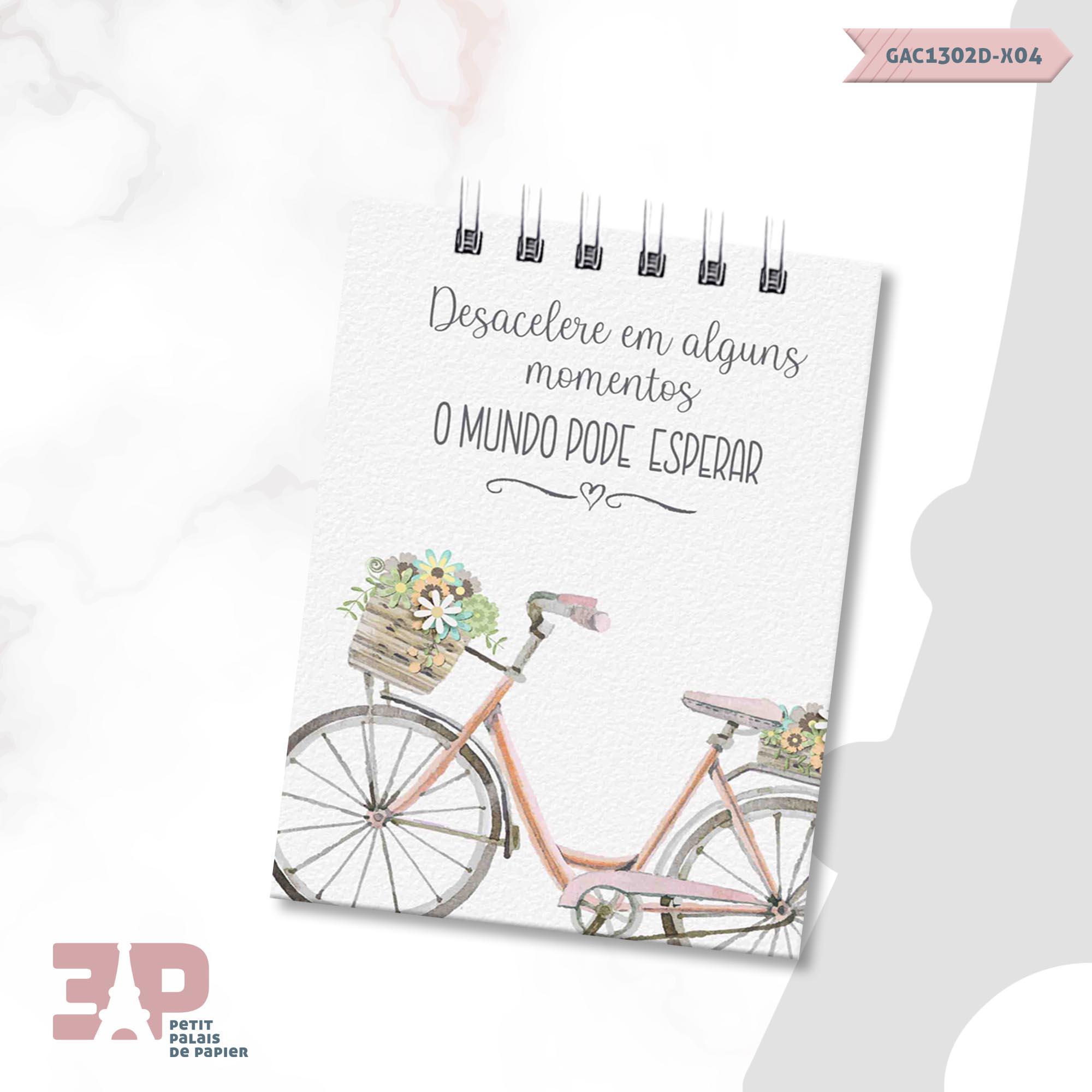 Bloco de Anotações - Pausa Necessária  - Petit Palais de Papier